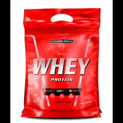 Nutri Whey Protein Morango 907g Integralmedica
