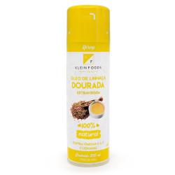 Óleo De Linhaça Dourada Extravirgem Em Spray 200ml Klein Foods