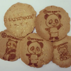 Cookies Sembei Com Gergelim Natural Granel