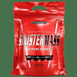 BLACK FRIDAY Sinister Mass Baunilha 3kg Integralmedica