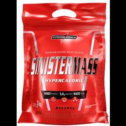 BLACK FRIDAY Sinister Mass Morango 3kg Integralmedica