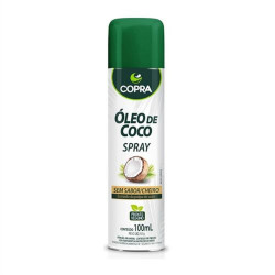 Óleo de Coco Spray Sem Sabor 100ml Copra
