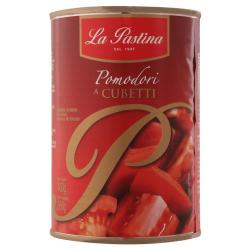 Tomate Pelado em Cubos 400g La Pastina